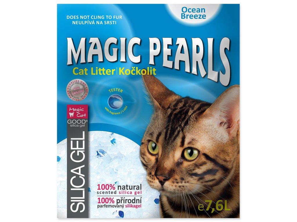 Kočkolit MAGIC PEARLS Ocean Breeze