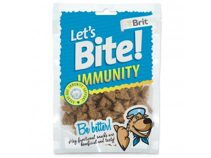 Snack BRIT Dog Let's Bite Immunity 150 g