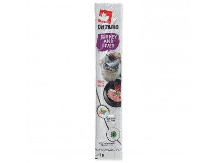 Stick ONTARIO for cats Turkey & Liver 5 g
