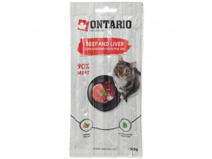 Stick ONTARIO for cats Beef & Liver 15 g