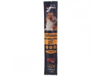 Stick ONTARIO for dogs Venison 15 g