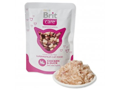 Kapsička BRIT Care Cat Chicken & Duck 80 g