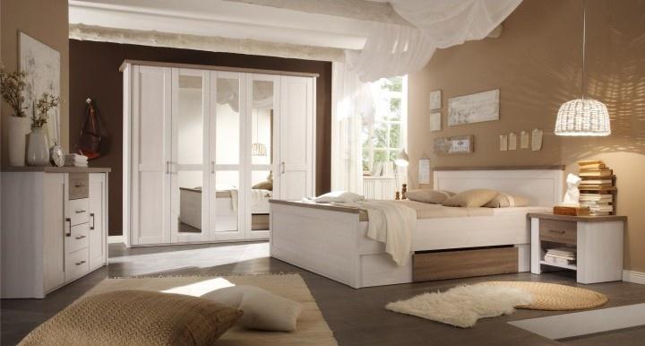 Francouzská ložnice: romantický styl Provence