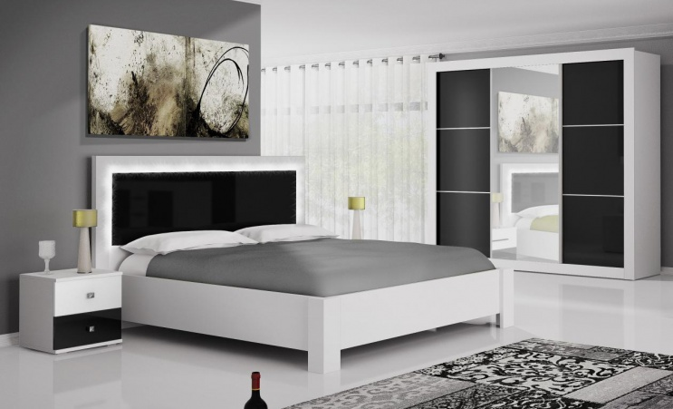Černá a bílá: hodí se tyto barvy pro nábytek běžné domácnosti? Ano, hodí!