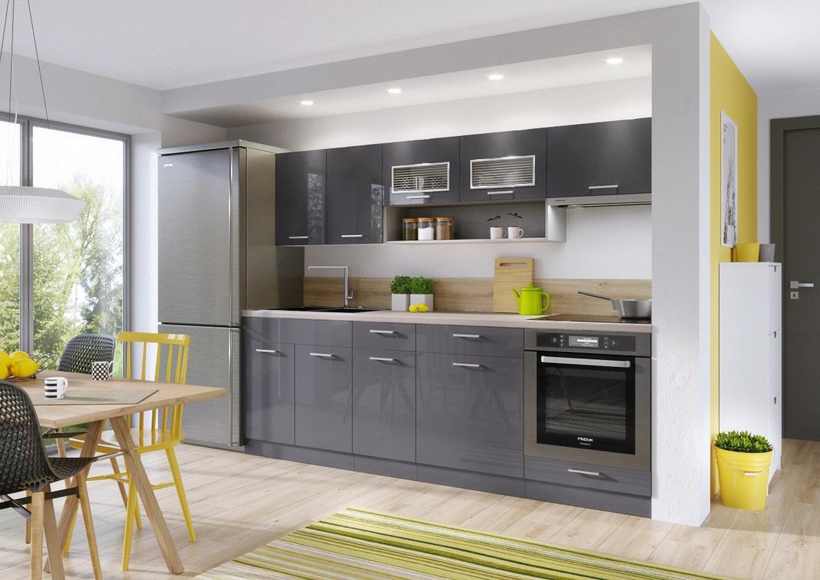 Zaměřeno na barvy: atraktivní a univerzální šedá pro vaši kuchyň