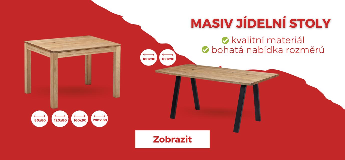 stoly z masivu