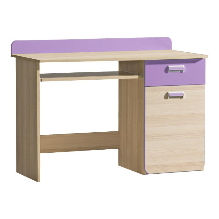 PC stůl v jednoduchém moderním provedení fialová EGO L10