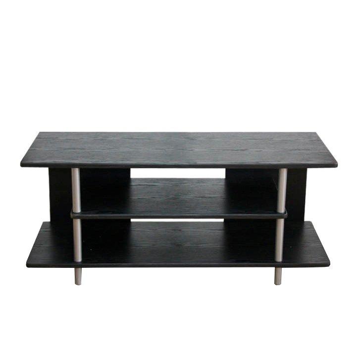 TV stolek v jednoduchém moderním provedení černá QUIDO