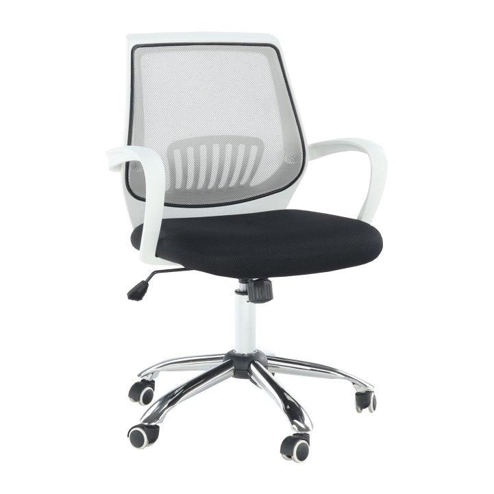 Kancelářské křeslo v jednoduchém moderním provedení šedá LANCELOT