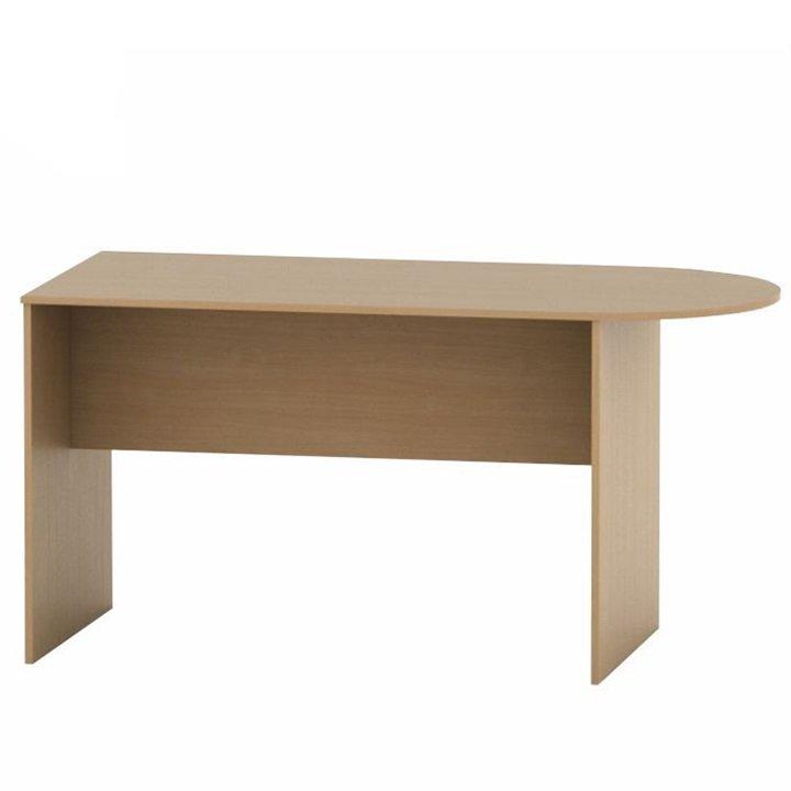 Kancelářský stůl s obloukem, buk, TEMPO AS NEW 022 / AS 08 /