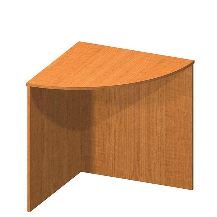 Stůl rohový obloukový, třešeň, TEMPO AS NEW 024