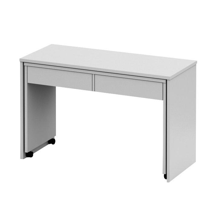 PC stůl rozkládací v moderním jednoduchém provedení bílá VERSAL NEW