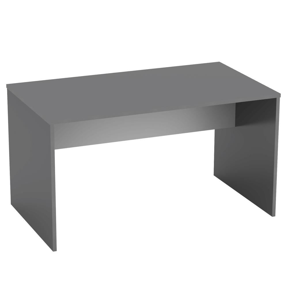 PC stůl 140x80 cm v kombinaci grafit a bílá Typ 11 TK2157