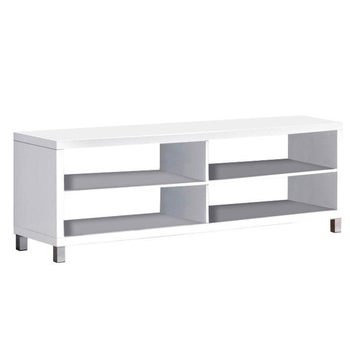 TV stolek v moderním bílém provedení Tofi NEW TV STOLEK