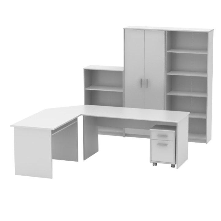 Kancelářská sestava bílá TK3225