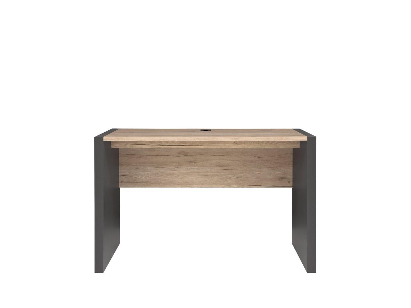 Psací stůl v kombinaci dub san remo světlý a šedý wolfram BIU/120 W008