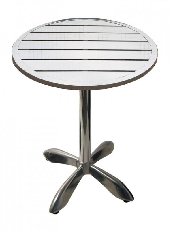 Zahradní hliníkový stůl kulatý 80 cm MTA 003