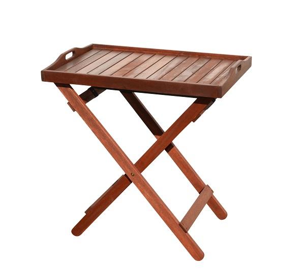 Zahradní servírovací stolek skládací LILLE