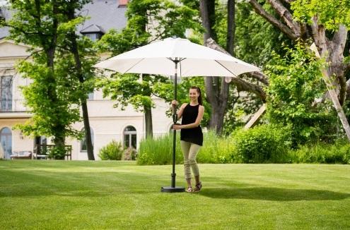 Slunečník hliníkový zahradní béžový 300 cm DF-003458