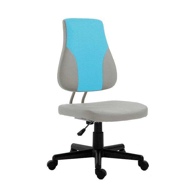 Dětská rostoucí židle, šedá / modrá, RANDAL