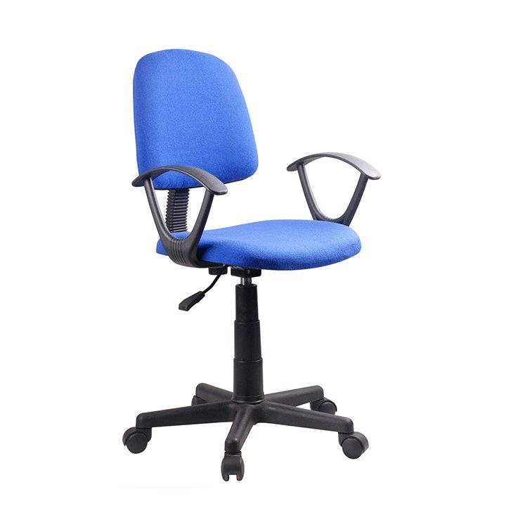 Kancelářská židle, modrá / černá, TAMSON