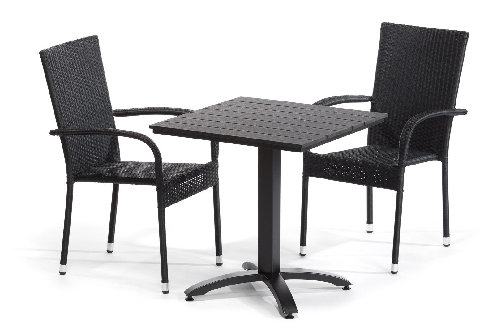 Balkónová sestava stůl a židle DT270
