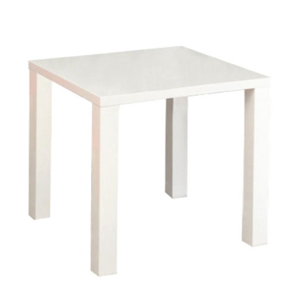 Jídelní stůl, bílá vysoký lesk HG, ASPER NEW TYP 5