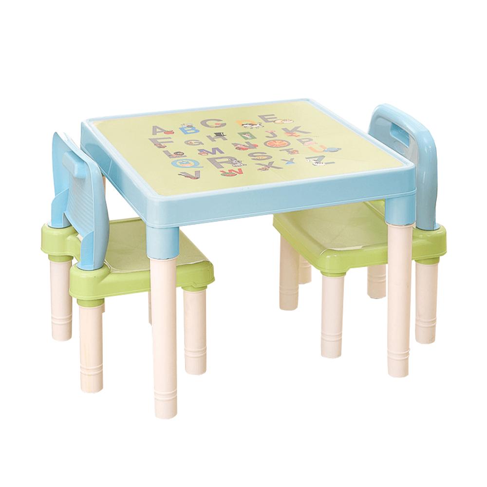 Dětský set 1+2, modrá/zelená/bílá, BALTO