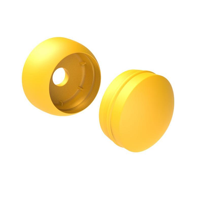 sada krytek M (plast) pro zakrytí vrutů žlutá