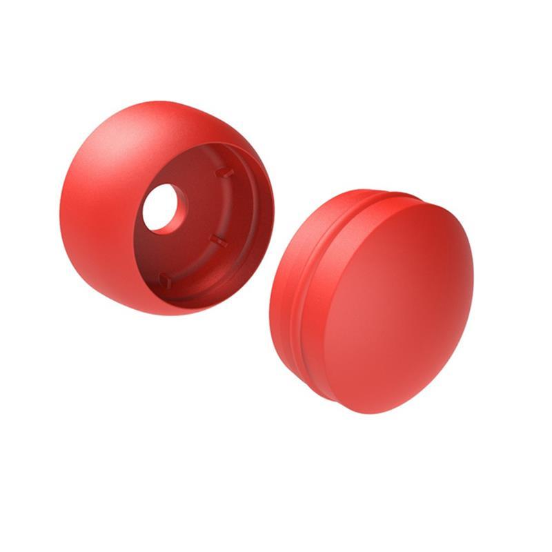 sada krytek M (plast) pro zakrytí vrutů červená