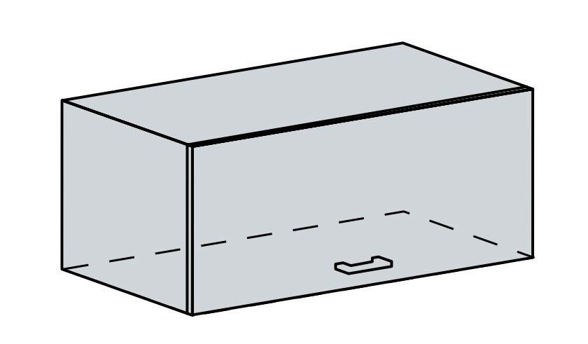 Kuchyňská linka VALERIA, více barev, na míru 80VP h skříňka výklopná VALERIA: wk/bílá lesk