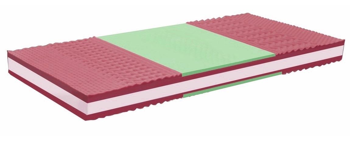 Oboustranná matrace 80x200 cm z paměťové pěny KN779