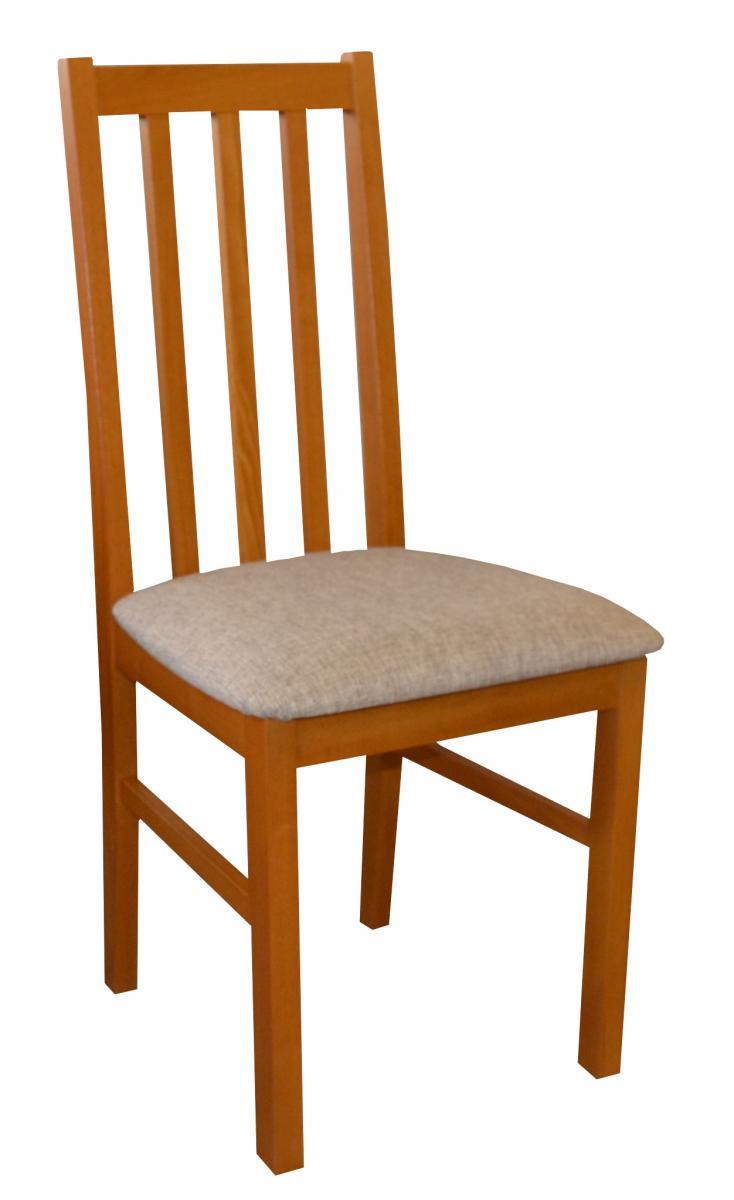 Jídelní židle z bukového masivu v dekoru olše F1326