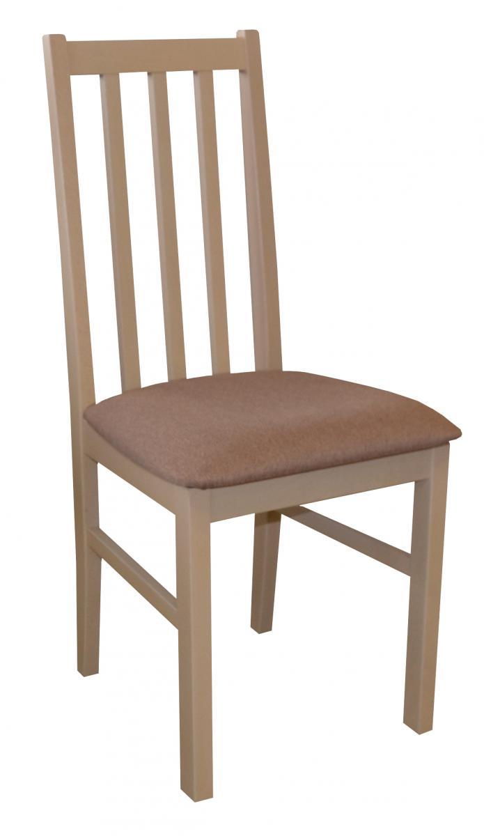 Jídelní židle z bukového masivu v dekoru dub sonoma F1326