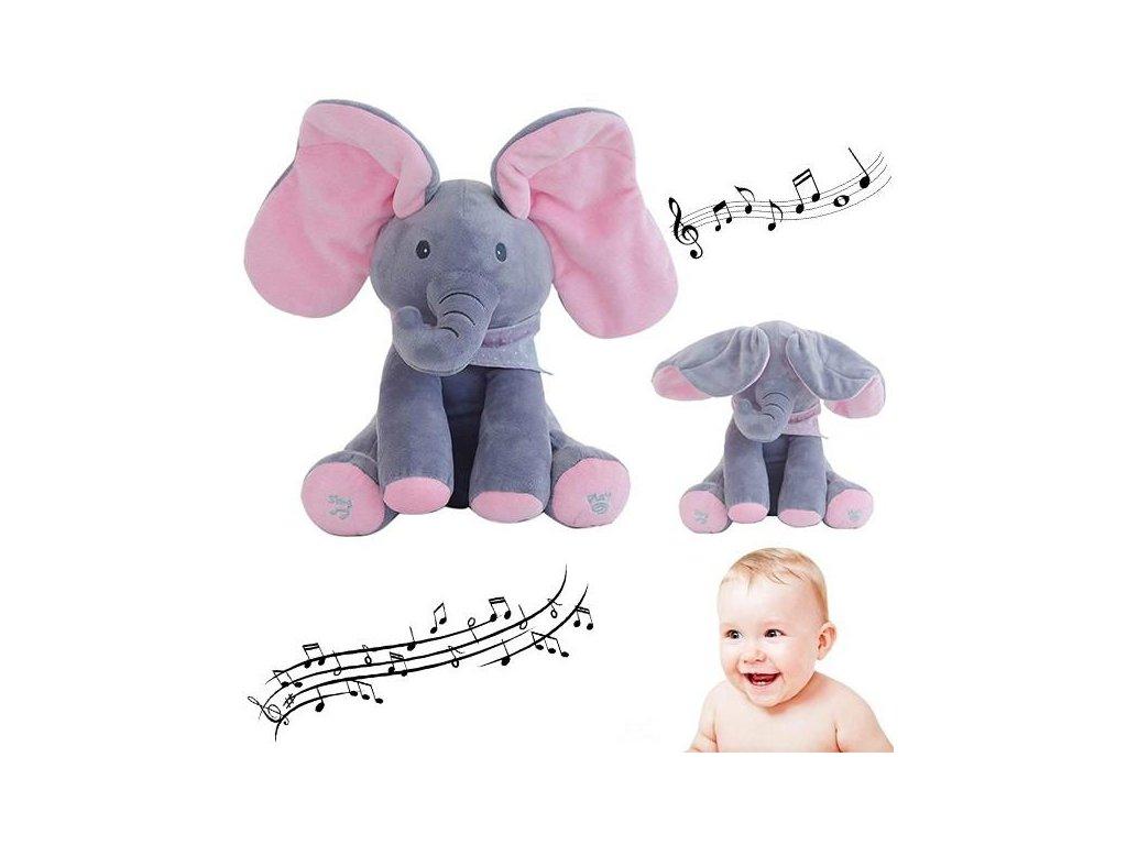 Pojoči slonček Flapy 15 1