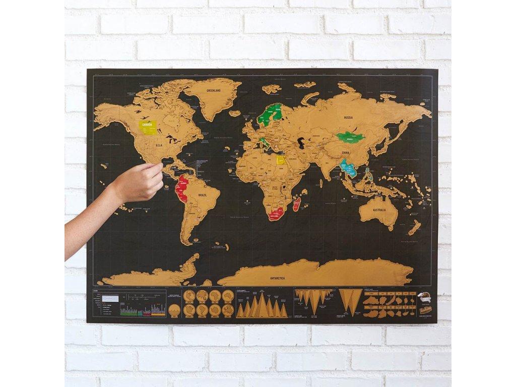stiraci mapa deluxe cerna