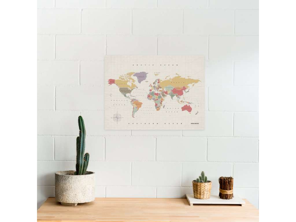 political worldmap map of the world watercolor tropical