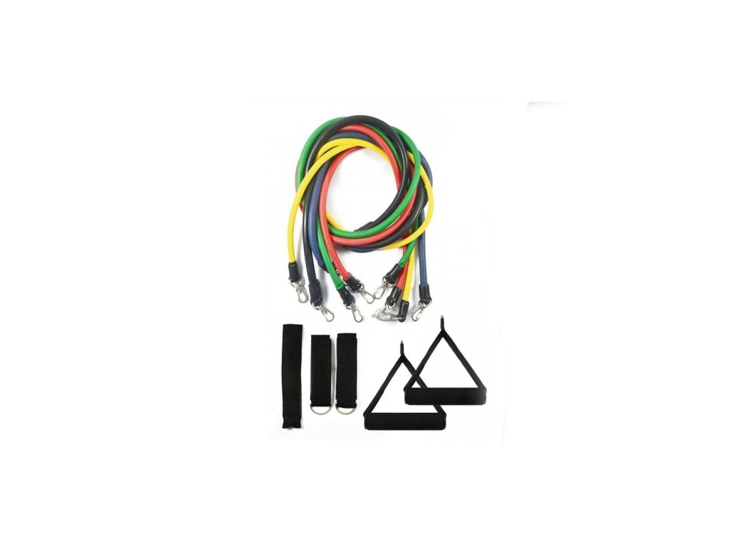 Multifunkční posilovací gumy - FIT BANDS