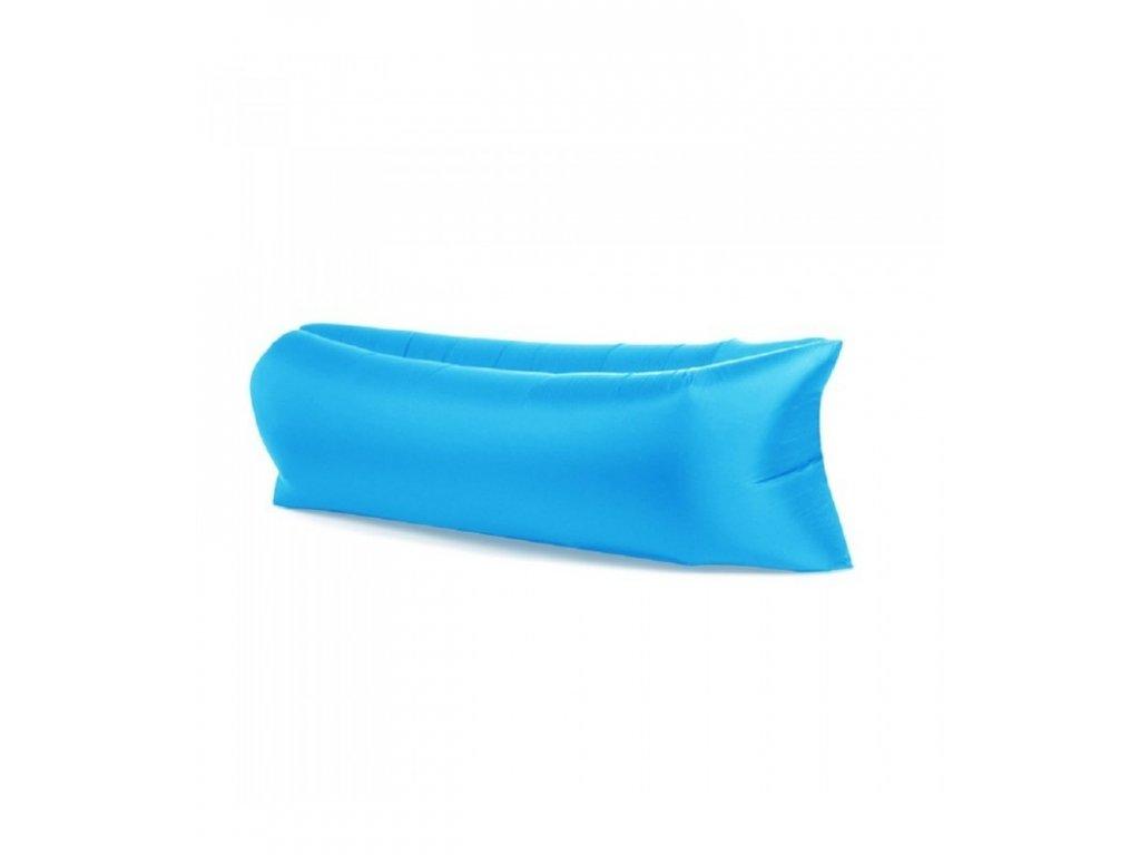 lazy bag nafukovaci vak xxl svetle modra