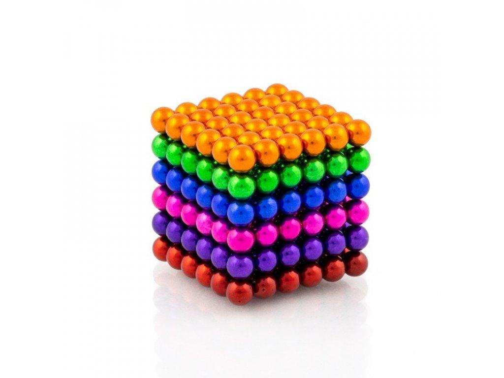 5031 2 neocube mix 6 barev magneticka stavebnice 216 kulicek