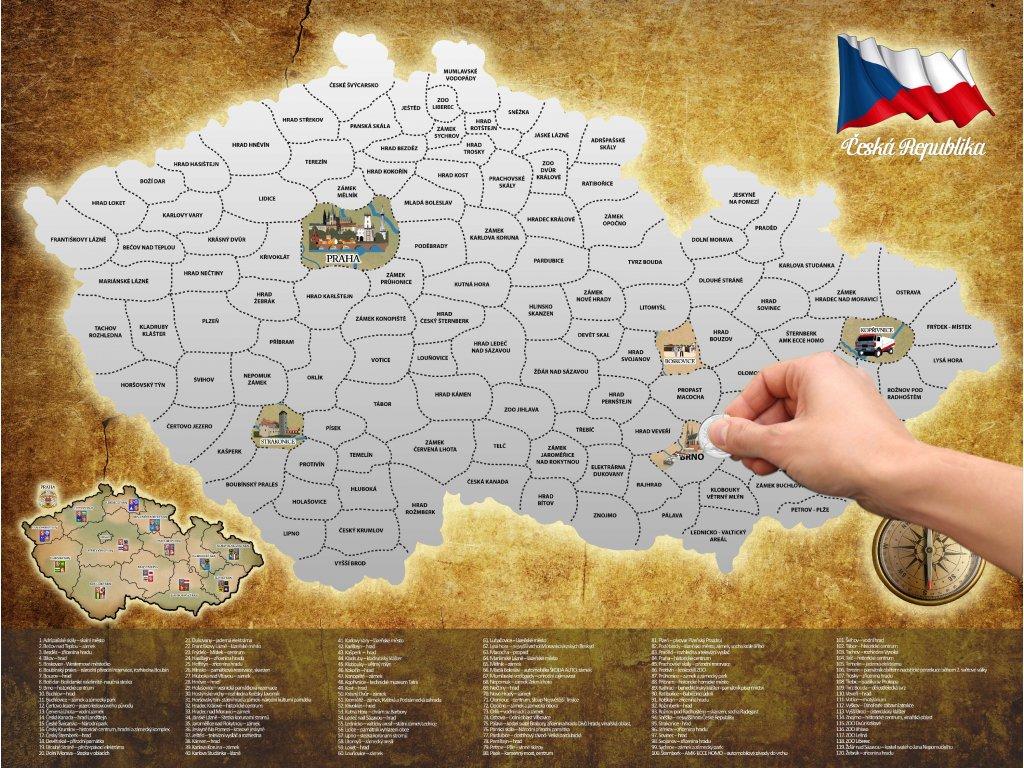 Stiraci Mapa Ceska Republika Nakup365 Cz