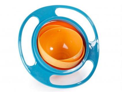 Nevyklopitelná miska pro děti - Gyro bowl