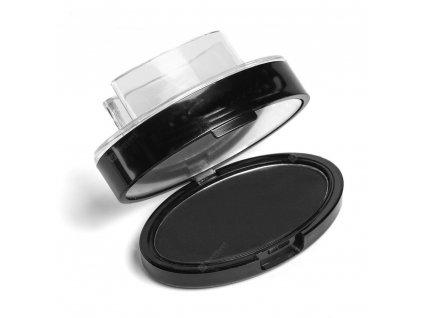 Make-up razítko na obočí se zrcátkem - černé