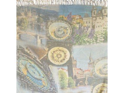 1417 pasminove saly s motivem praha blankytne sedo modra
