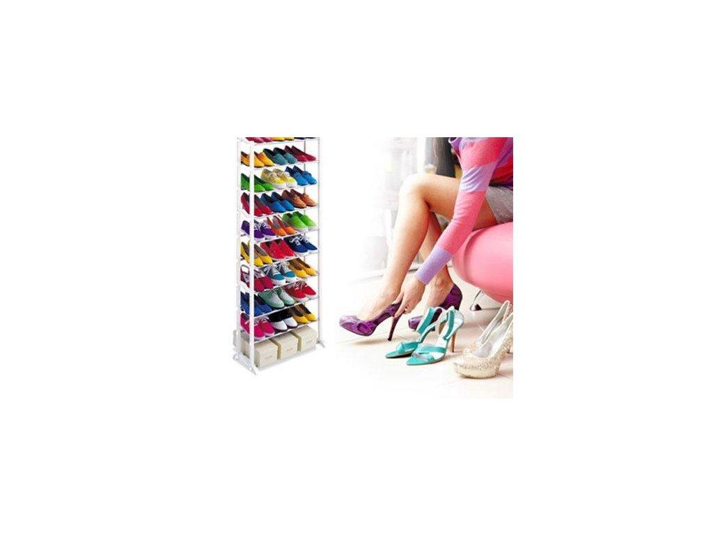 13253 2 skladaci botnik amazing shoe rack