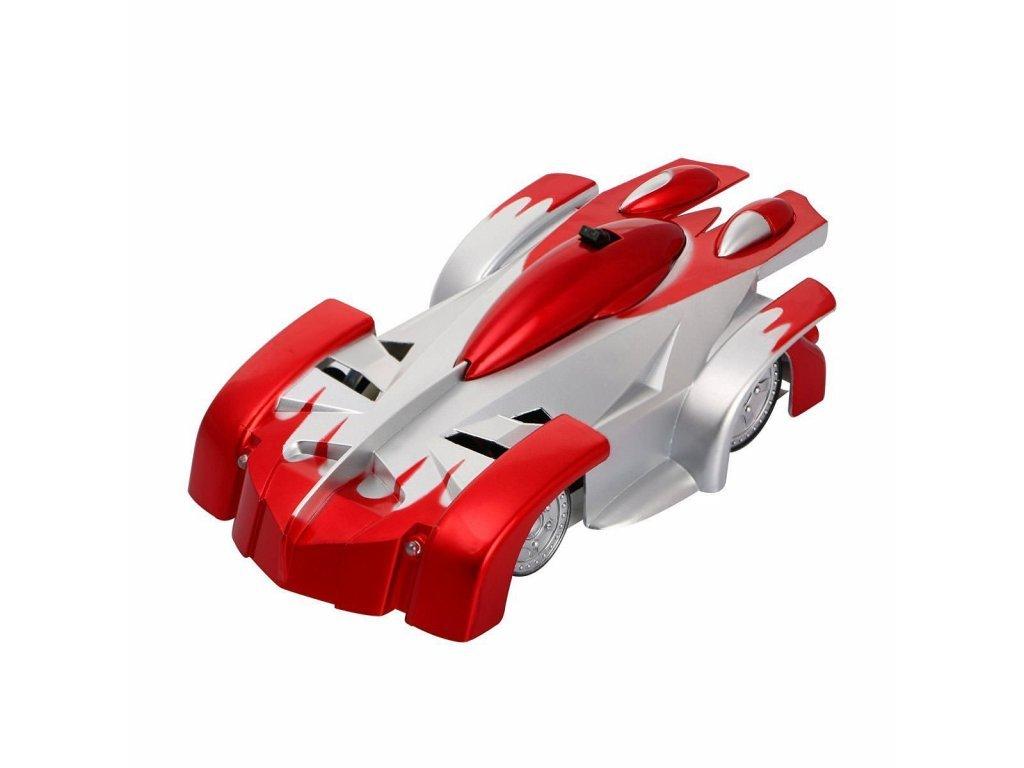 Antigravitačné autíčko Wall Climber, červené