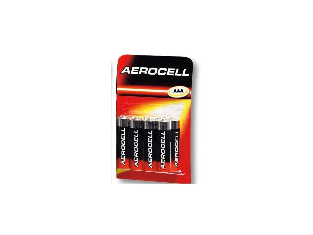 Alkalické batérie AAA- 8 ks, Aerocell