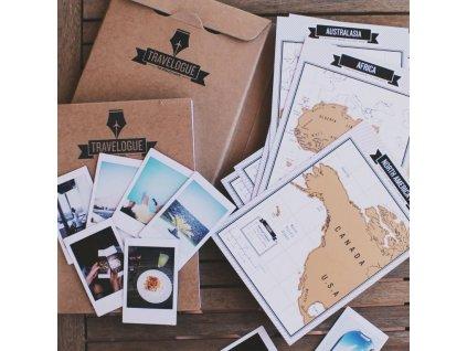 0011658 cestovni denik se stiracimi mapami