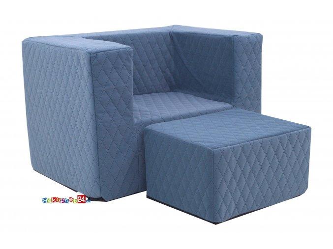 Fotelik MATT BLUE III