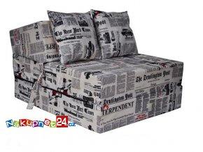 fotel rozkl NEWSPAPER